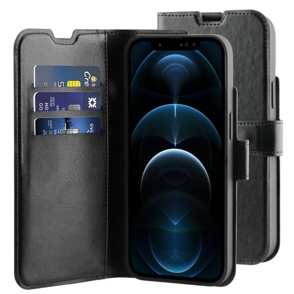 BeHello iPhone 13 Pro Max Gel Wallet Hoesje Zwart