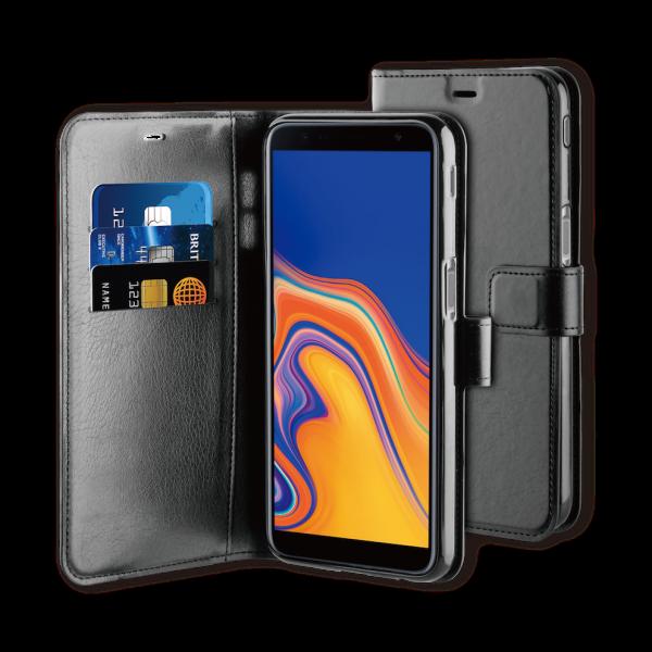BeHello Samsung J6+ Gel Wallet Case Black