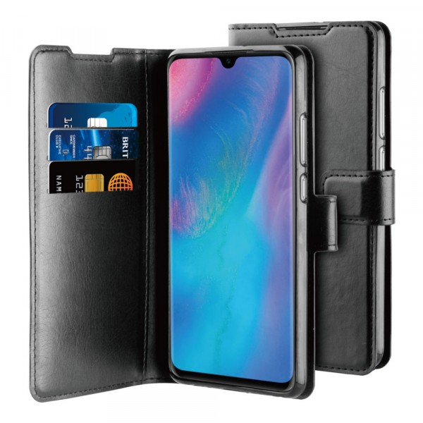 BeHello Huawei P30 Pro Gel Wallet Case Zwart