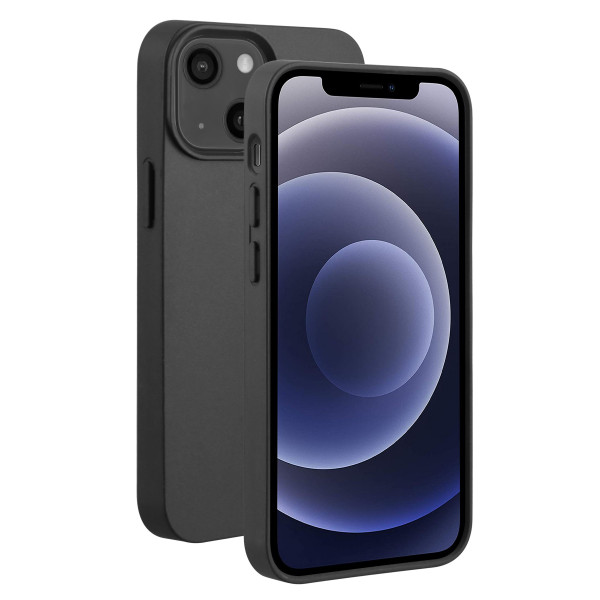BeHello iPhone 13 Eco-friendly GEL Hoesje Zwart