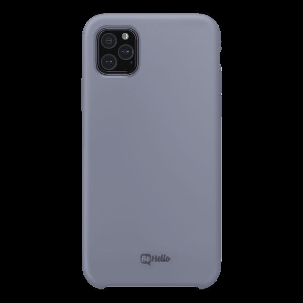 BeHello Premium iPhone 11 Pro Liquid Siliconen Hoesje - Grijs