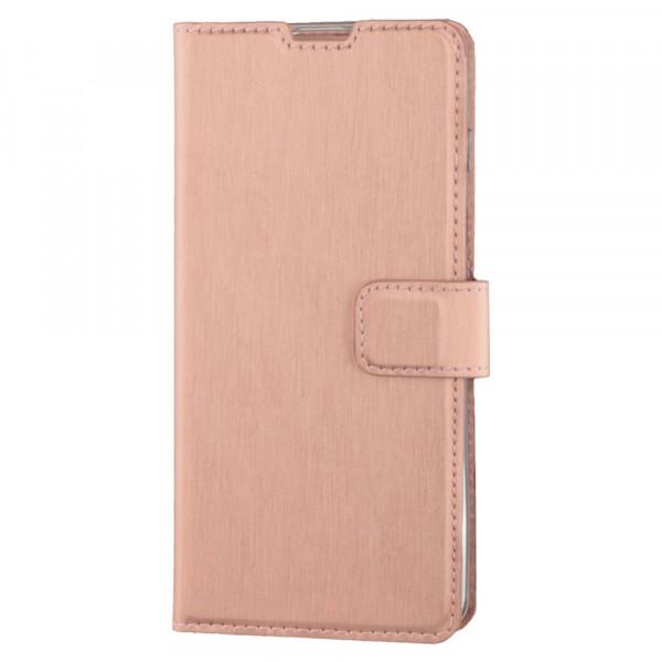BeHello Samsung Galaxy S10 Hoesje - Gel Wallet Case Met Ruimte Voor 3 Pasjes Rose Goud