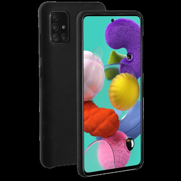 BeHello Premium Samsung Galaxy A51 Liquid Silicone Case Black