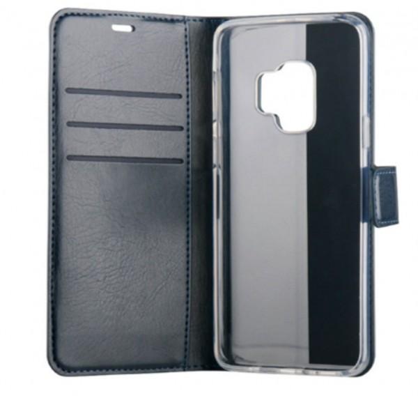 BeHello Gel Wallet Case Blauw voor Samsung Galaxy S9