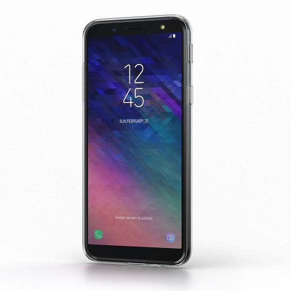 BeHello Gel Back Case Transparant voor Samsung Galaxy A6