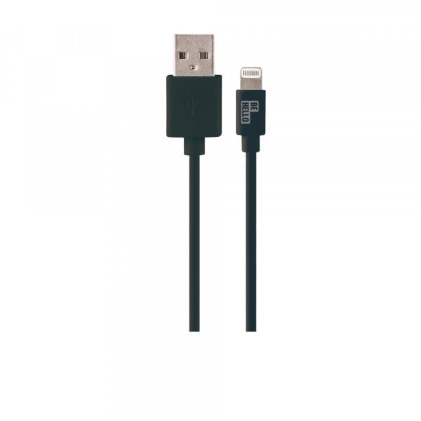 BeHello Lightning Oplaadkabel (1,2m) Zwart voor Apple iPhone | iPad
