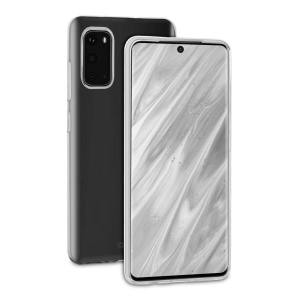 BeHello Samsung Galaxy S20 ThinGel Siliconen Hoesje - Transparant
